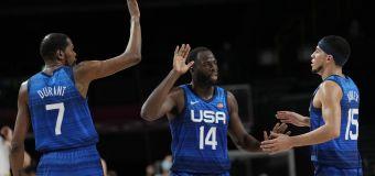 US, 3 unbeaten teams set for Olympic men's basketball semis