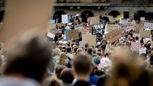 Protests in Amsterdam, Dublin over killing of black American