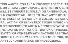 New Xbox Live terms of service prevent class action lawsuits against Microsoft [update: opting out not allowed]