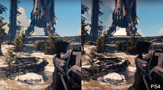 'Destiny' on PS3 is like the PS4 version but blurrier
