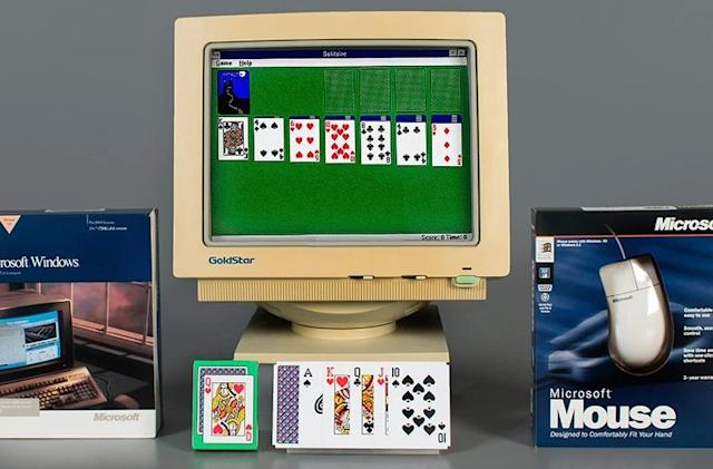 Microsoft's classic Solitaire game is 30 today