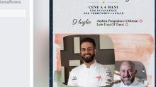 Poker di chef stellati al 'Moma' per 'Le stelle del Lazio'
