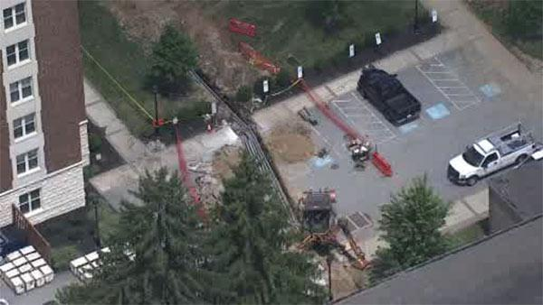 Gas main capped, evacuations lifted at West Chester University