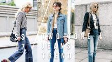 在時尚達人之間急速冒起的潮流單品,女生今季一定要的牛仔褲就是這款!