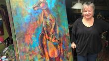 Hamilton artist sells paintings to save animals from Australian wildfires