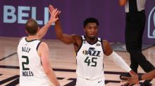 Donovan Mitchell helps Jazz beat Nuggets, tie series at 1