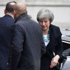 British PM May to update ministers on calls with EU leaders
