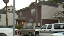 Intruder shot by dad in 13-year-old girl's bedroom stabs himself to death