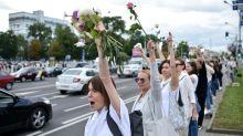 Bélarus : les chaînes humaines se multiplient contre la répression