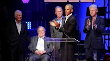 All Five Living Former U.S. Presidents Gathered In Texas To Raise Money For Hurricane Victims