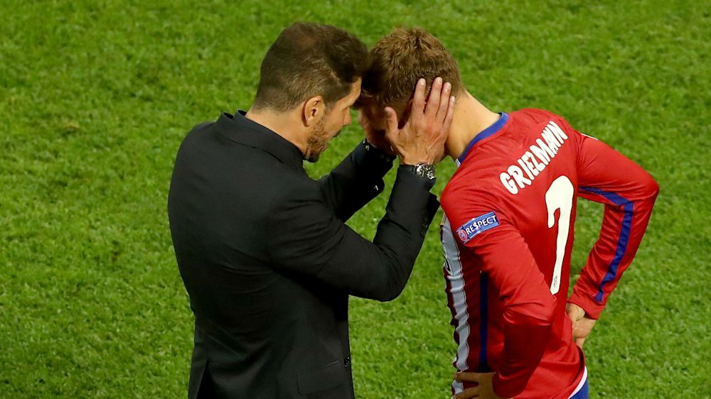 Manchester United target Griezmann could leave at any time - Simeone
