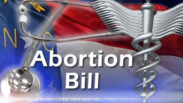 NC lawmakers allow new abortion rules