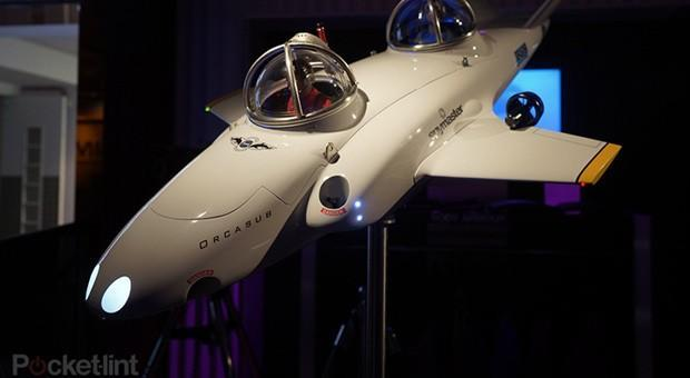 Spymaster's Orcasub is a $2 million submarine for two