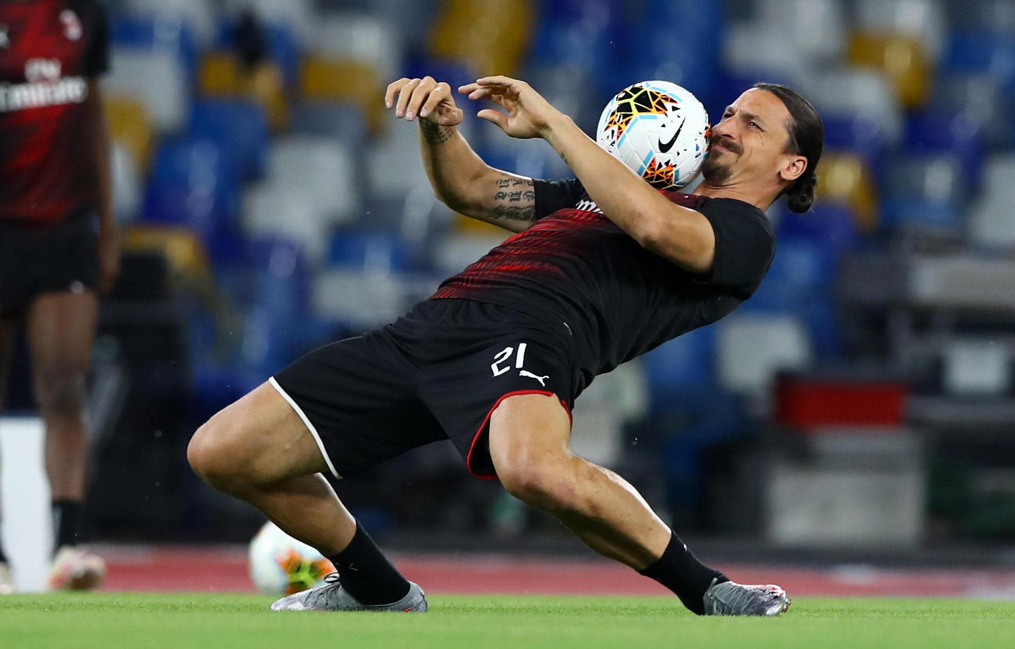Ligue Europa Zlatan Ibrahimovic Teste Positif A La Covid 19