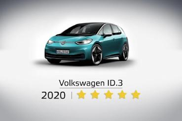 Volkswagen ID.3獲得Euro NCAP五顆星最高安全評價