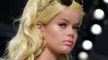 Barbie-Like Makeovers for Milan Fashion Week Models