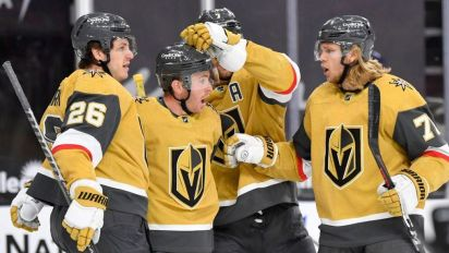 Golden Knights first team to clinch playoff spot