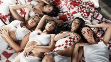 Las hermanas Kardashian, juntas y en ropa interior para Calvin Klein
