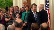 Justice Brett Kavanaugh makes his Supreme Court debut