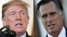Le républicain Mitt Romney attaque la politique de Donald Trump mais épargne Joe Biden