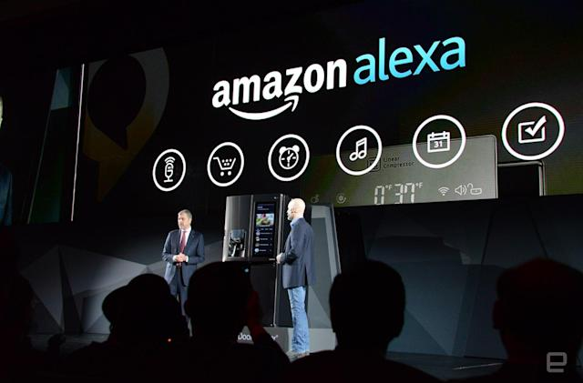 Amazon's Alexa assistant is coming to LG refrigerators