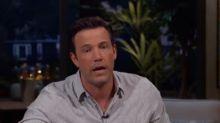 Ben Affleck rastet im US-Fernsehen aus