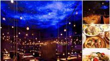 日本網民推介銀座餐廳 超正星空佈置Twitter熱傳