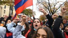 """Des milliers d'Arméniens réunis pour demander la """"reconnaissance"""" de l'indépendance du Haut-Karabakh"""