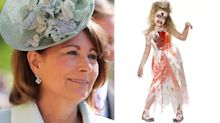 Princess Diana's friends call out Carole Middleton for selling 'sick' zombie costume