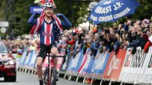 American cyclist suspended by team after pro-Trump comments
