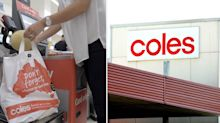 Coles shopper praises 'amazing' act of customers and staff