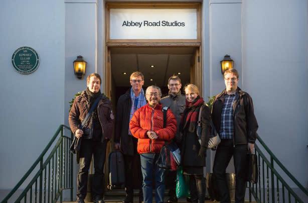 Final Fantasy composer records symphonic album at Abbey Road