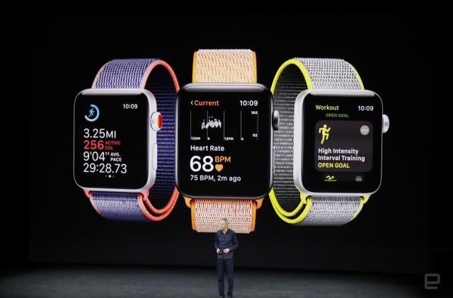 Apple Watch Series 3 with 4G starts at £399 in the UK