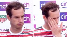 Andy Murray breaks down in tears after remarkable three-year first