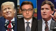 Chris Hayes calls Donald Trump and Tucker Carlson 'cowards' for giving in to anti-vax rhetoric