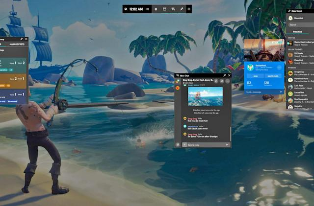 Windows 10's Xbox bar helps you find and share games