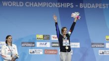 Katie Ledecky loses, proving she's human