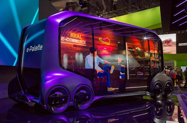 Toyota insists its e-Palette is more than a concept car