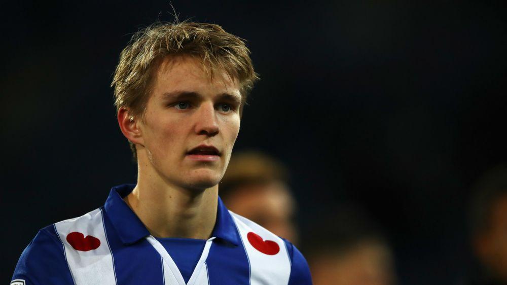Prêté par le Real Madrid, Martin Ødegaard brille aux Pays-Bas