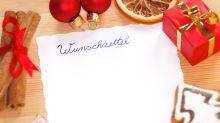Kleiner Junge schreibt rührenden Brief an den Weihnachtsmann