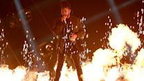 "The Weeknd ""Can't Feel My Face"" 2015 MTV VMA Performance"