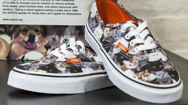 It's Not Just the Internet… Vans Loves Cats Too