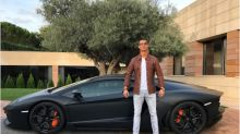 Cristiano Ronaldo Poses Awkwardly With New Lamborghini, Instantly Is Mocked