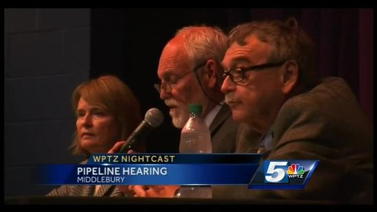 Pipeline hearings continue in Middlebury