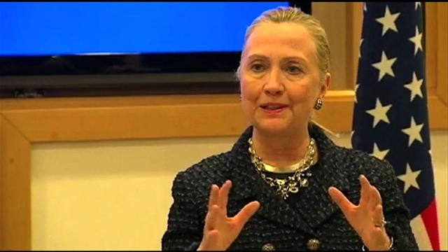 Clinton offers impassioned defense of UN Amb. Susan Rice