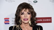 Joan Collins says wearing jeans and T-shirts is 'tragic'