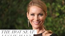 Leslie Mann on Her Epic Beauty Fail, Dating a Vampire, and Electrocuting Her Face