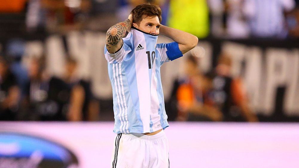 """La carta que Messi envió a la FIFA: """"Mis dichos fueron al aire"""""""