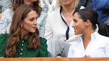 Girls' Day Out: Kate Middleton and Meghan Markle watch Wimbledon final from Royal Box