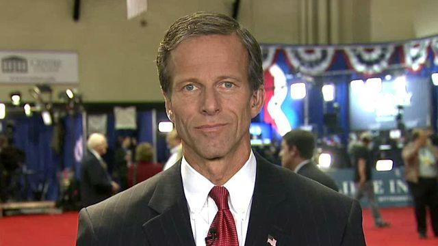 Sen. Thune: Ryan represents a different direction for US